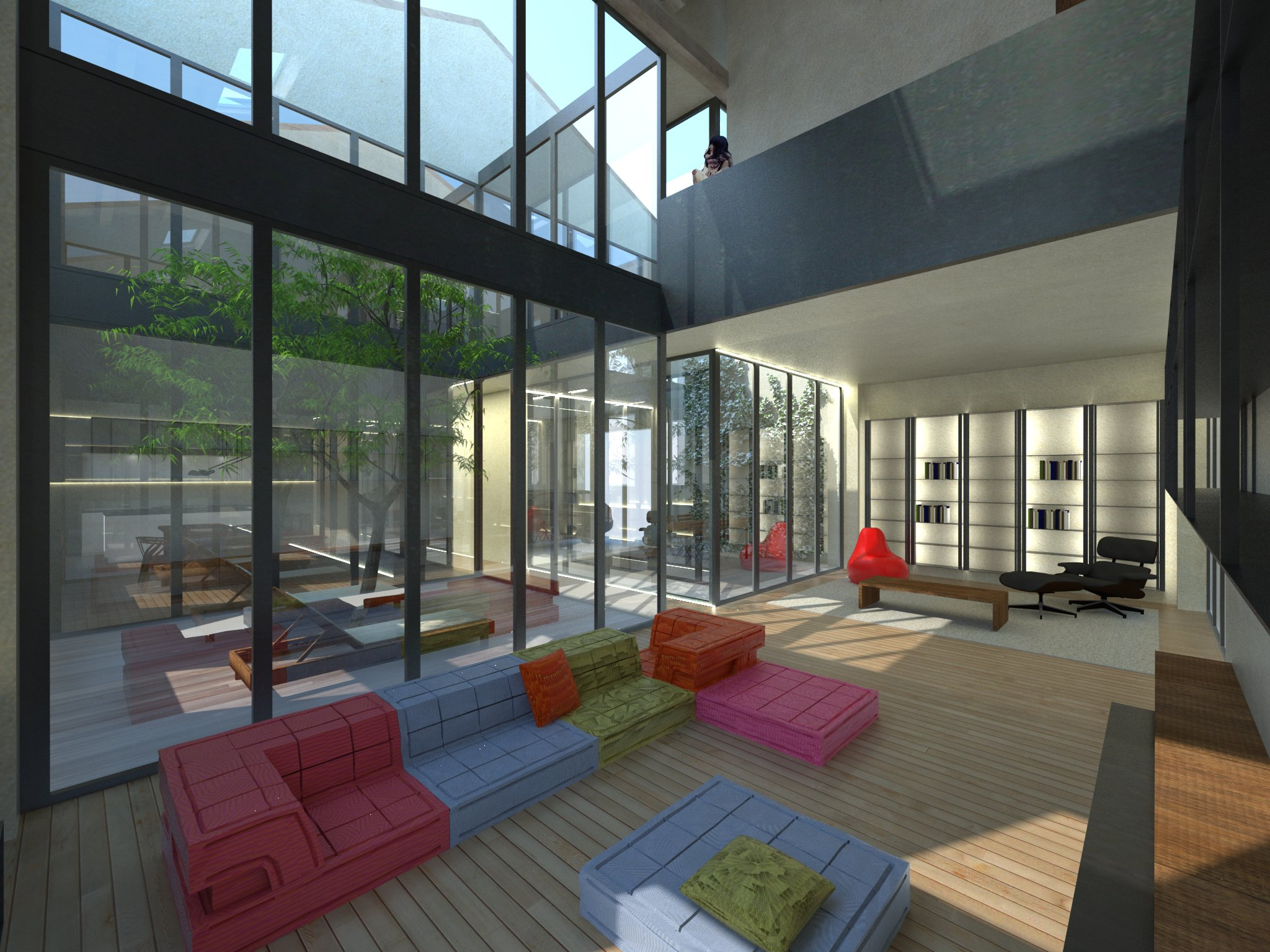 loft matteo selleri interior design imola