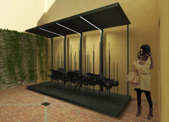 progettazione spazi espositivi imola - matteo selleri architetto
