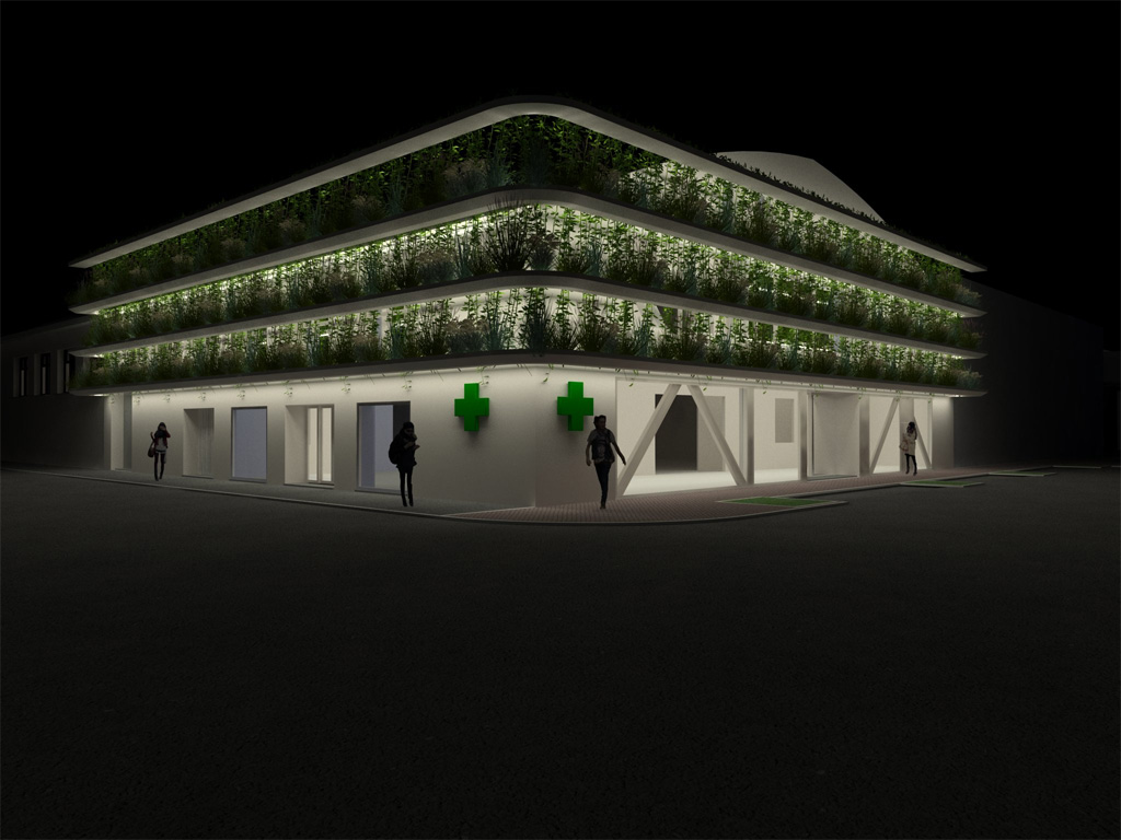 nuova farmacia della stazione imola - matteo selleri architetto imola